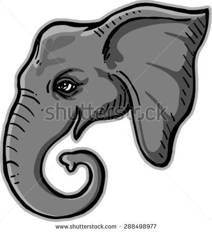 Giant Elephant Ear Stock Photos, Royalty.