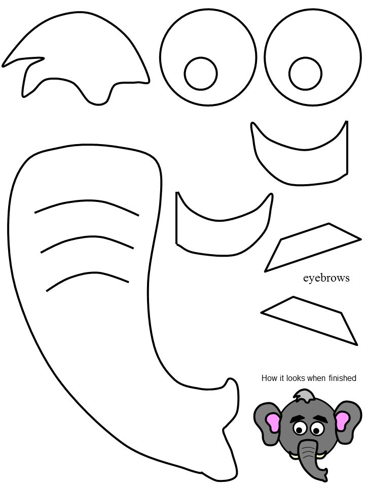 Elephant Leaf Clipart Clipground