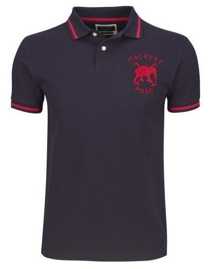 What brand is the polo shirt with an elephant logo?.