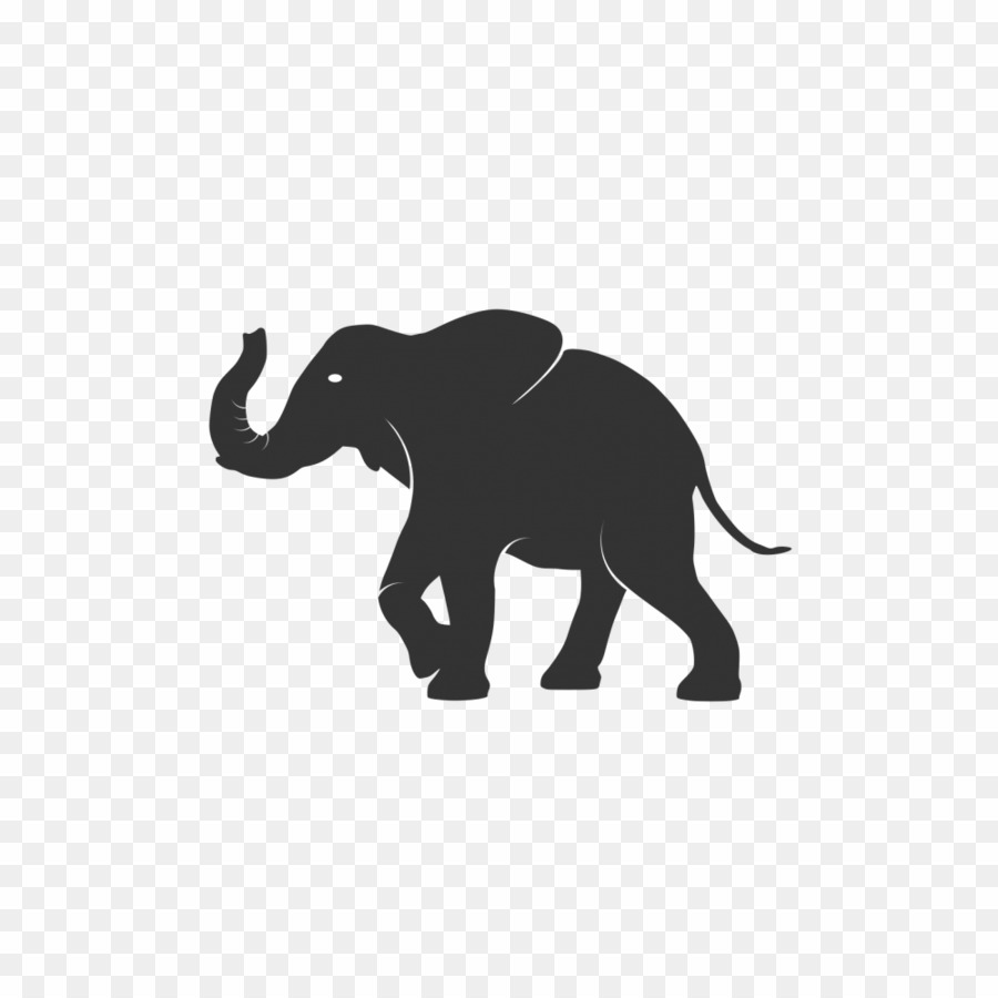 Elephant Logo PNG Clipart download.