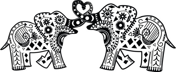 Printable 21 Elephant Mandala Coloring Pages 8917.