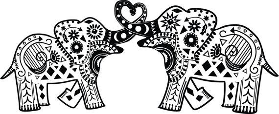 Elephant Mandala Clipart 20 Free Cliparts Download