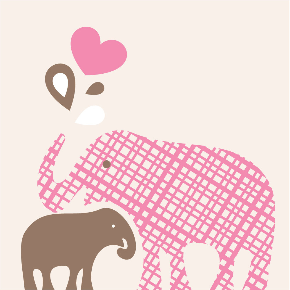 Free Mom And Baby Elephant Silhouette, Download Free Clip Art, Free.