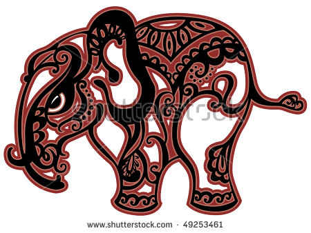 elephant red outline clipart 20 free Cliparts | Download images on