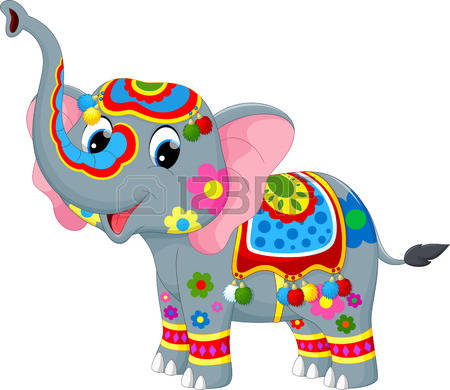 1,545 Elephant Show Cliparts, Stock Vector And Royalty Free.