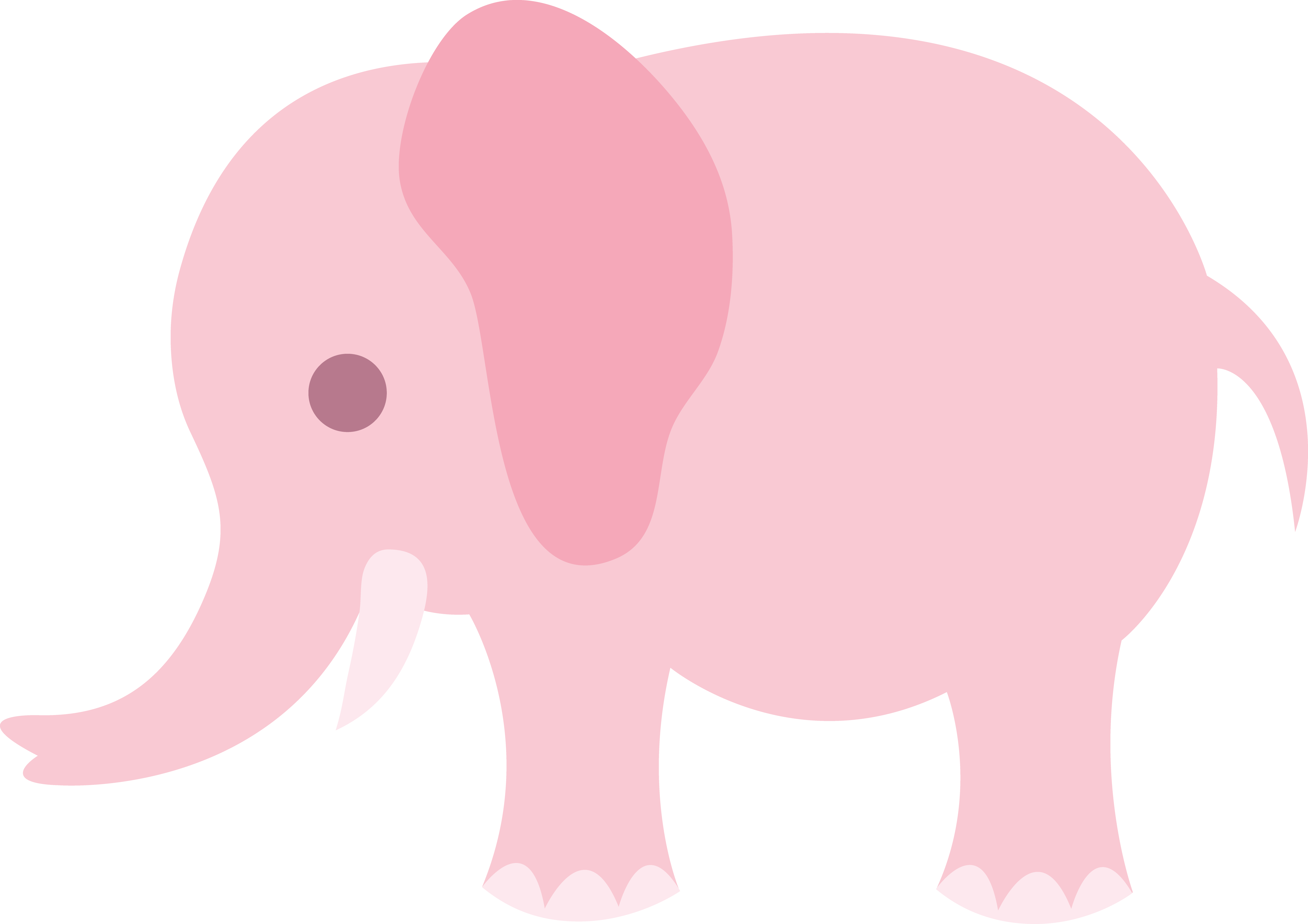 Fisher price baby show elephant clipart.