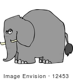 Gallery For > Elephant Side View Clipart.
