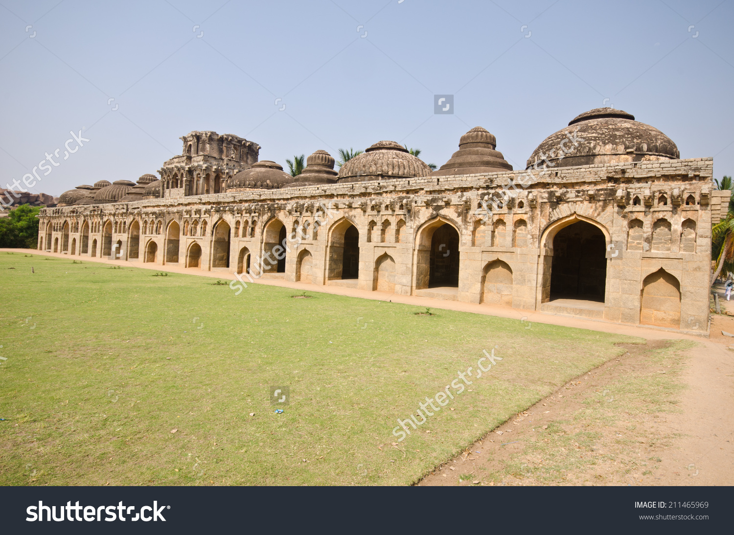 Elephant Stables At Royal Enclosure.