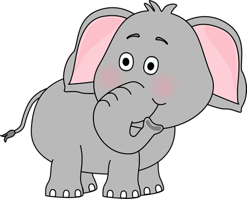 Elephant Clipart Transparent.