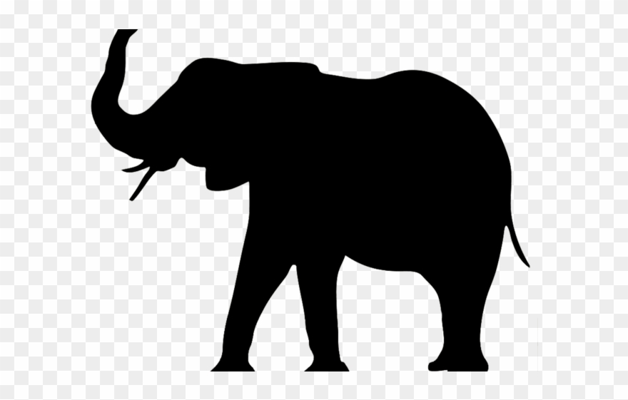 Asian Elephant Clipart Huge Elephant.