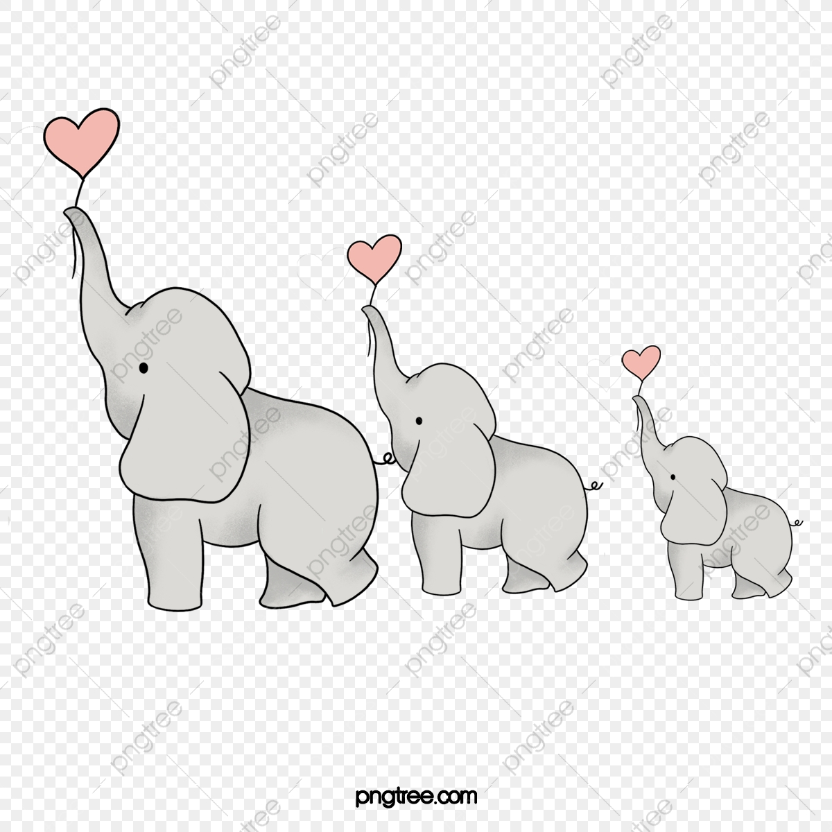 Elephant Vector, Elephant Clipart, Lovely, Elephant PNG Transparent.