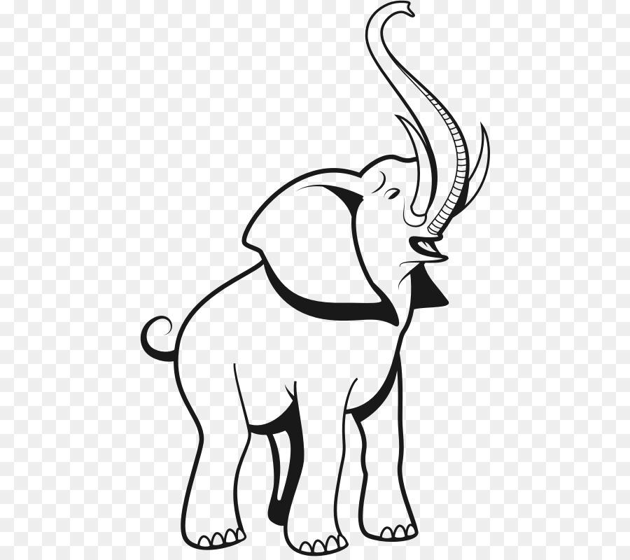 African elephant Indian elephant Clip art.