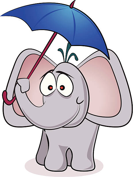 Best Elephant With Umbrella Illustrations, Royalty.