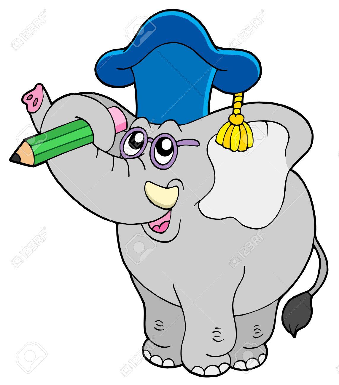 Writing Elephant Teacher.