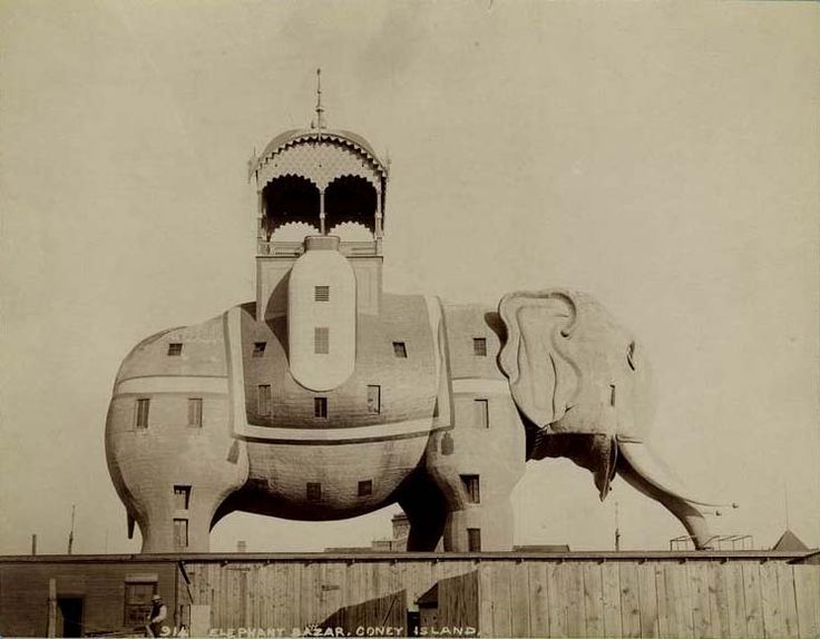 The Elephantine Colossus, or Elephant Hotel, at Coney Island. New.
