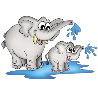 elephants child clipart clipground