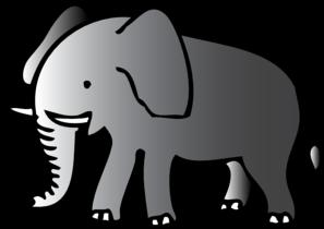 Elephant Clip Art at Clker.com.