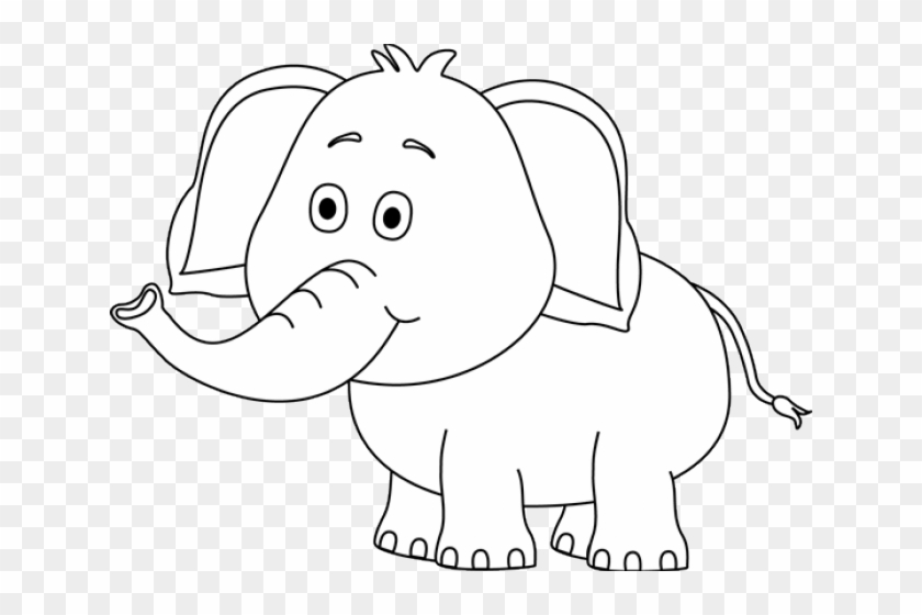 Cute Elephant Clipart.