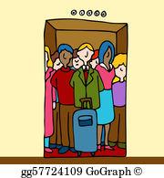 People Elevator Clip Art.