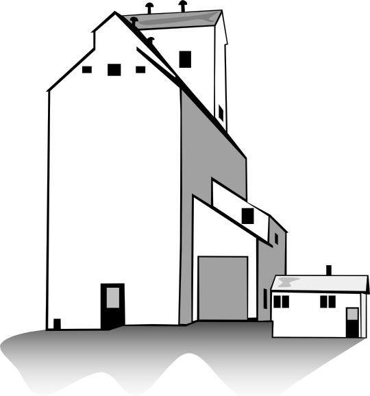 Grain Elevator clip art Free vector in Open office drawing svg.