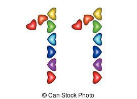 Number 11 Clip Art Vector and Illustration. 185 Number 11 clipart.