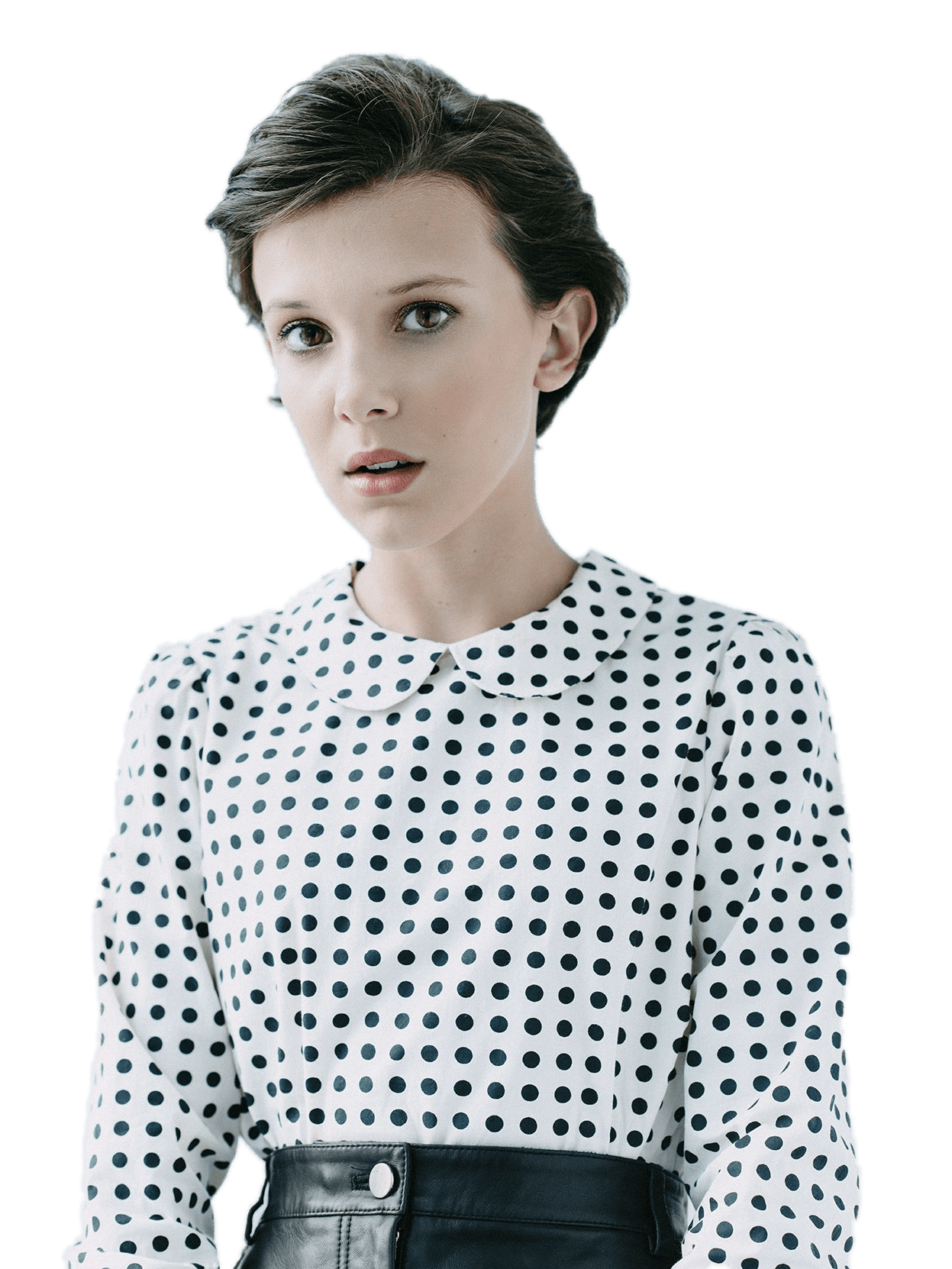 Download Shoulder Brown Stranger Bobby Things Blouse Eleven HQ PNG.