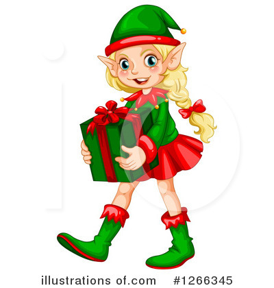 Christmas Elf Clipart #1266345.