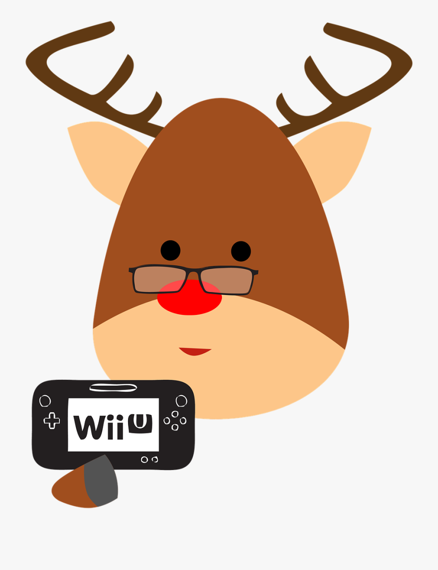 Rudolph The Red Nosed Reindeer Clipart Elf Face.