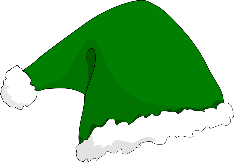 Free Clipart: Elf hat.
