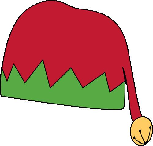 Elf Hat Clip Art Coloring Pages.