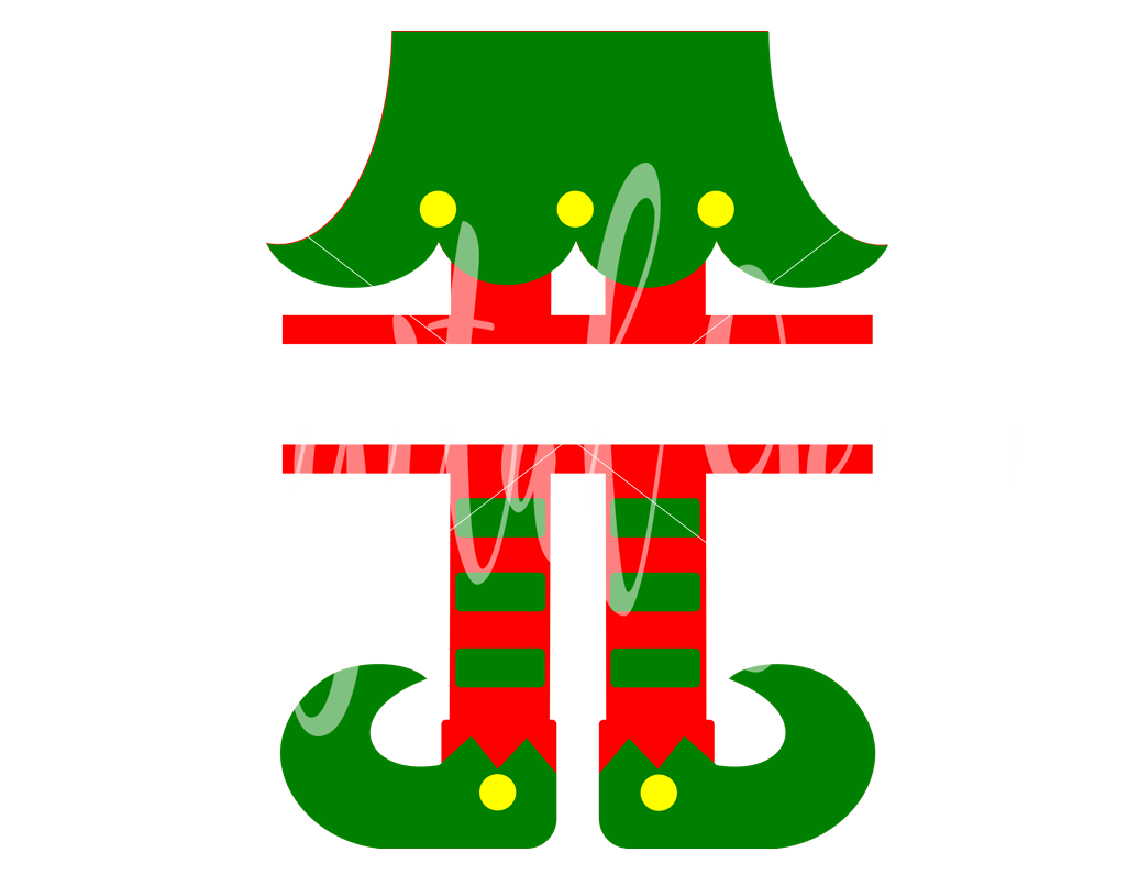 Elf Legs SVG / DXF / EPS / PNG Files.