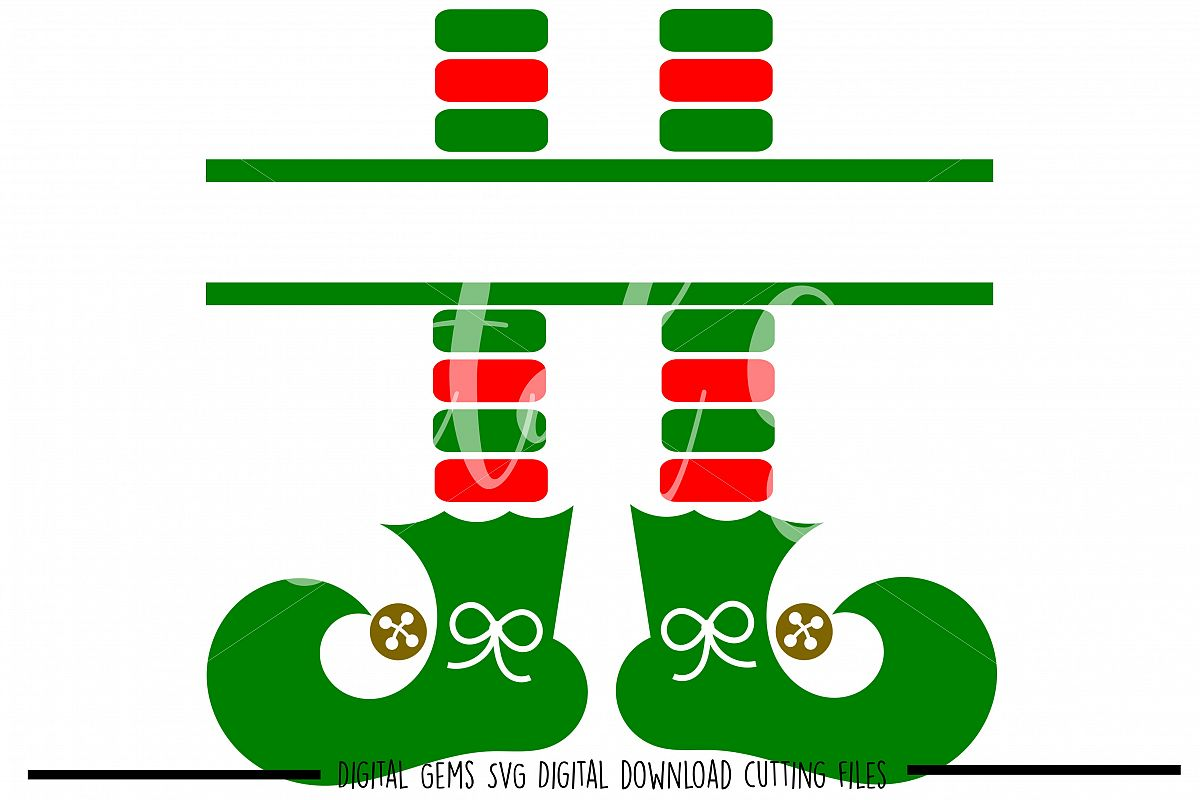 Elf legs SVG PNG EPS DXF files.