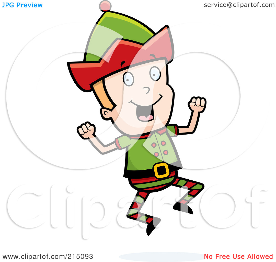 Elf Man Clipart.