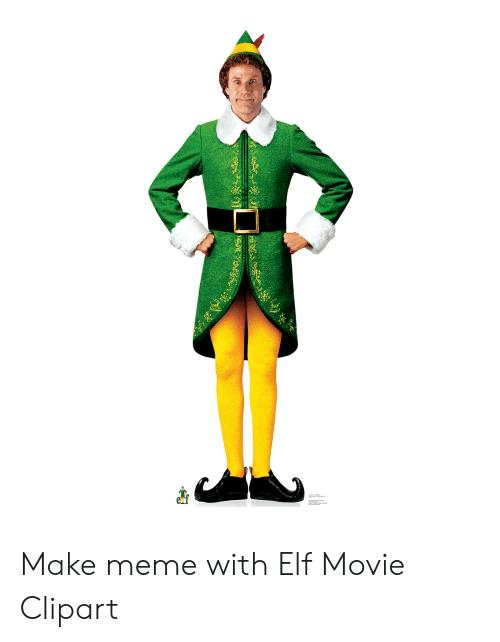 Make Meme With Elf Movie Clipart.