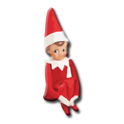 PNG Elf On The Shelf Transparent Elf On The Shelf.PNG Images..