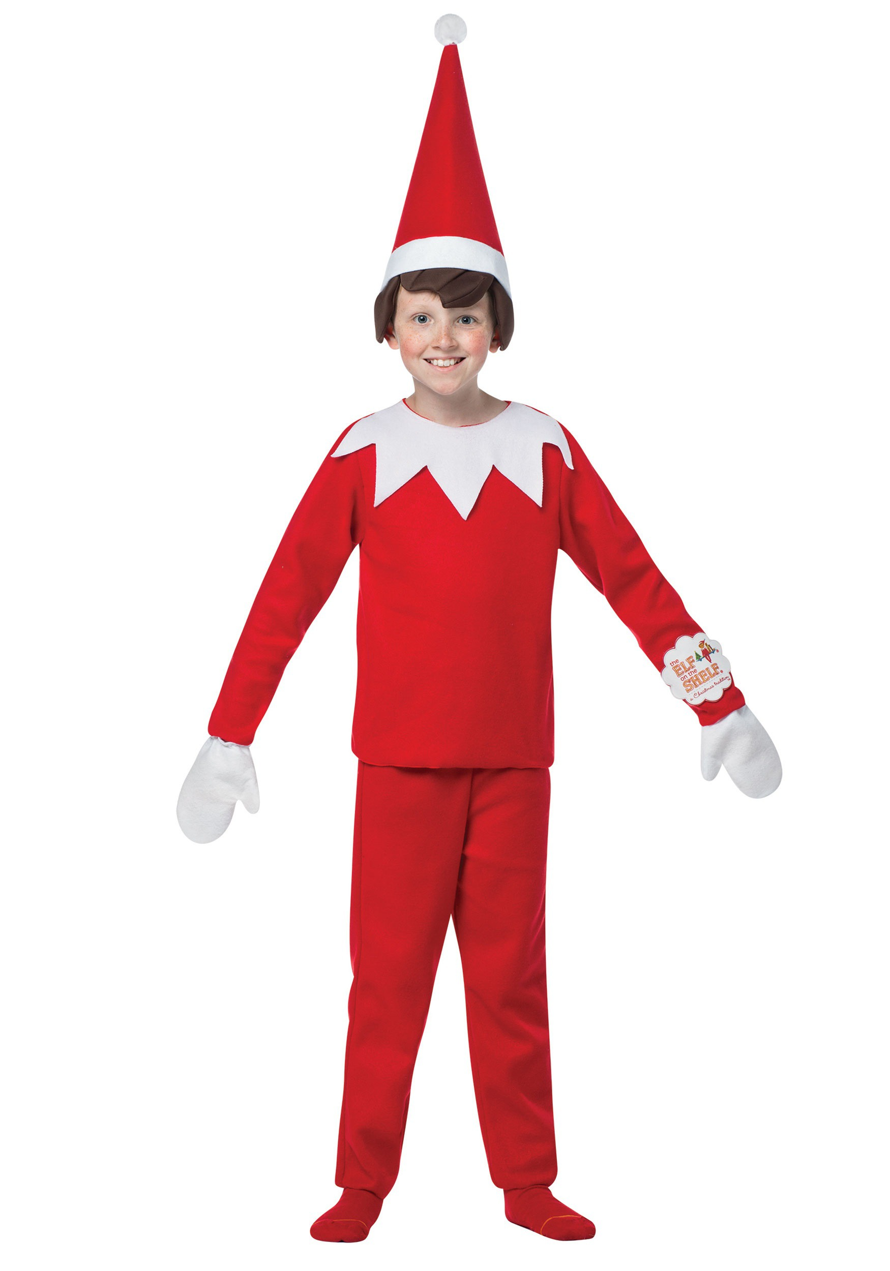 Kids Elf on the Shelf Costume.