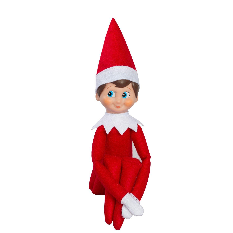 elf on shelf clipart #4