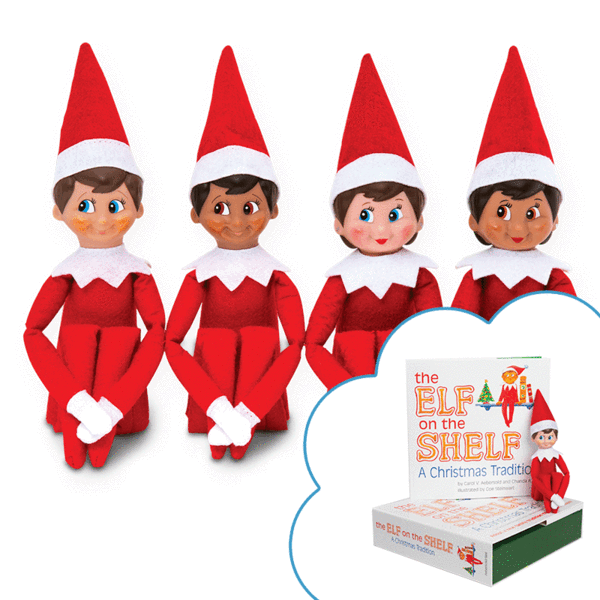 Elf On The Shelf® Christmas Tradition.
