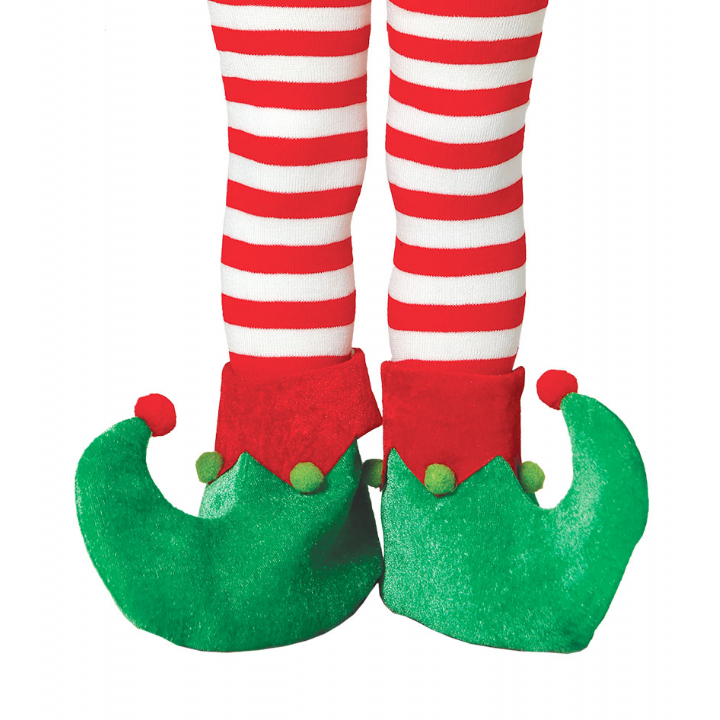 Details about CHILD Elf Gnome Pixie Shoes Christmas Xmas Fancy Dress.