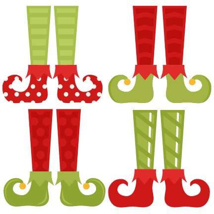 Elf Shoes Cliparts.