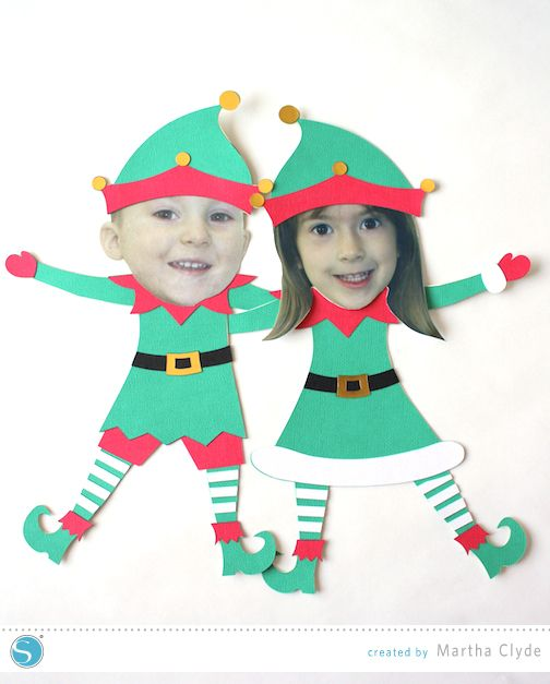 Elf Yourself Christmas Craft.