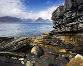 Stock Photo of Scotland, Argyll and Bute, Isle of Skye, The varied.