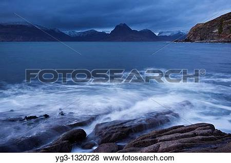 Pictures of View towards Black Cuillins from Elgol, Isle of Skye.