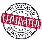 Eliminated Stamp Stock Illustrations.
