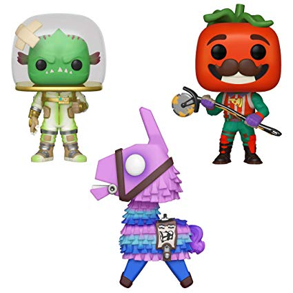 Funko Games: POP! Fortnite Series 3 Collectors Set.