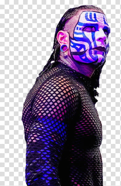 Jeff Hardy Elimination Chamber transparent background PNG.
