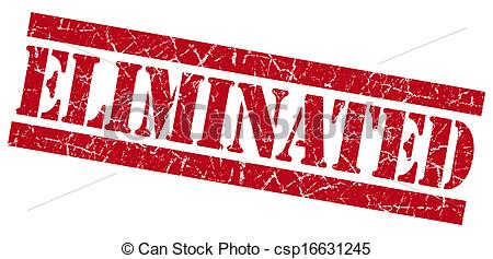 Eliminated stamp Clipart and Stock Illustrations. 221 Eliminated.