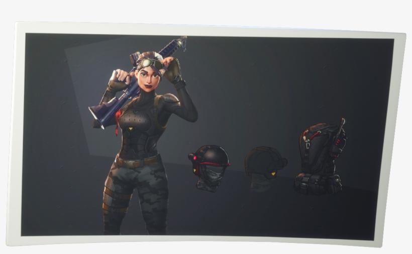 Fortnite Elite Agent Png Image.