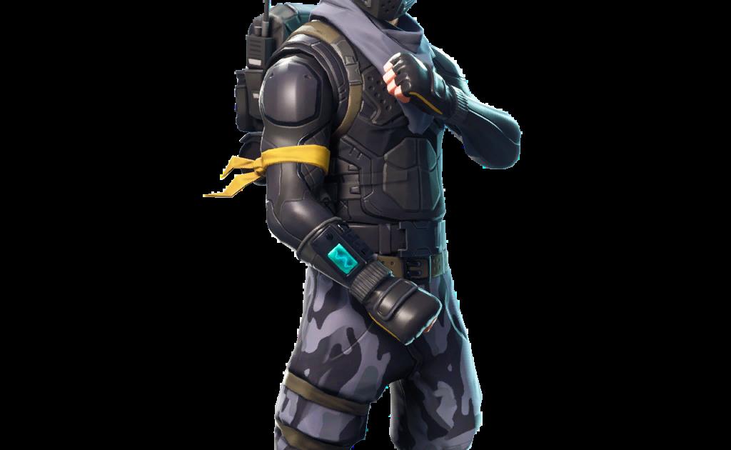 Fortnite Elite Agent Skin Png Transparent.
