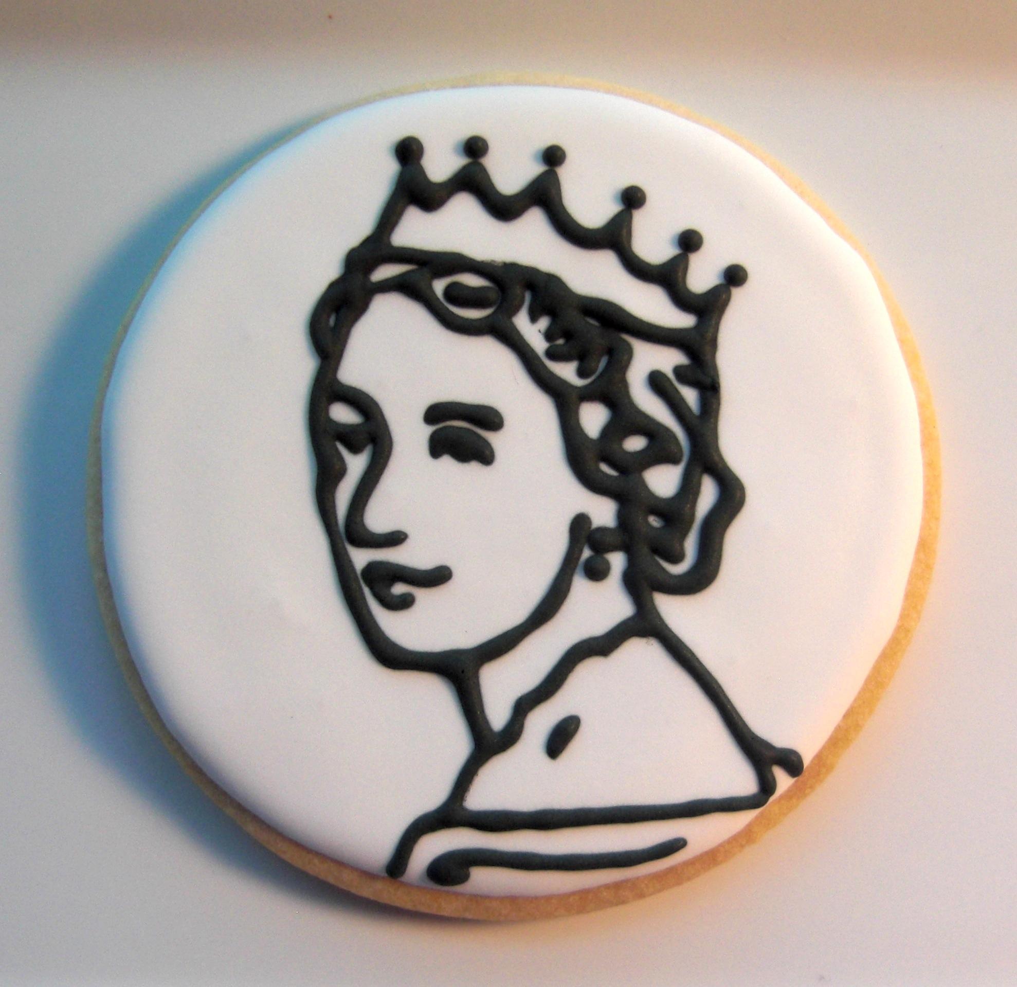 Queen elizabeth cartoon clipart.